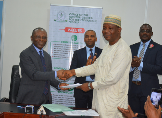 SFTAS: OAuGF Signs MoU with Ministry of Finance